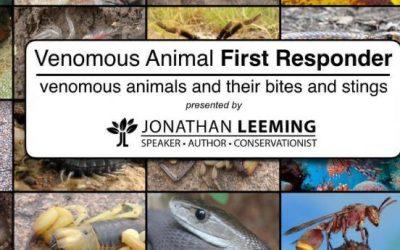 Venomous Animal First Responder Seminar